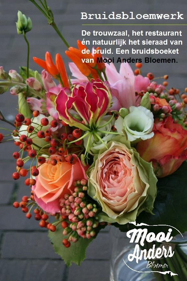 Bruidsboeket Amsterdam Mooi Anders Bloemen