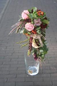 waterval bruidsboeket mooi anders bloemen