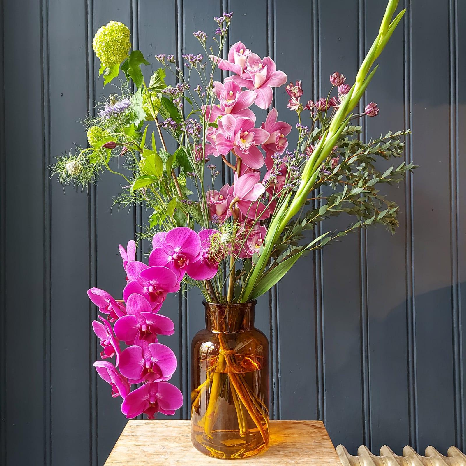 Orchideeën voor Romy's moeder